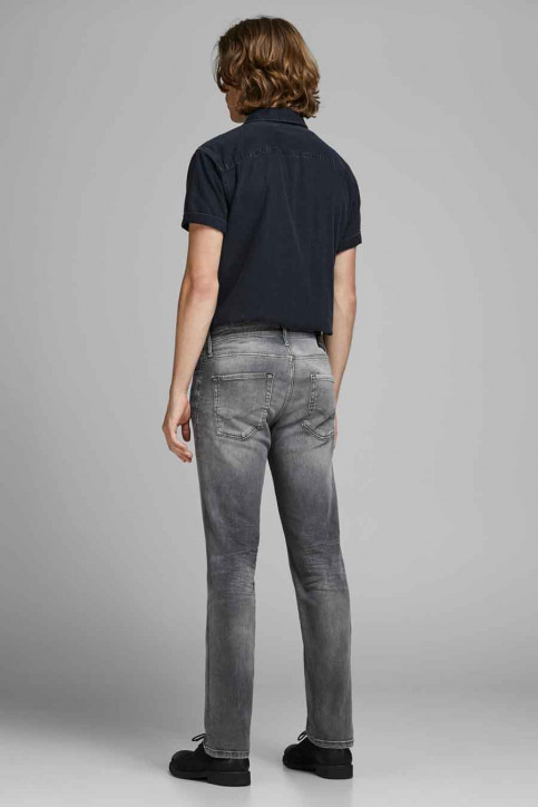 JACK & JONES JEANS INTELLIGENC Jeans slim 12158607_BLACK DENIM img3