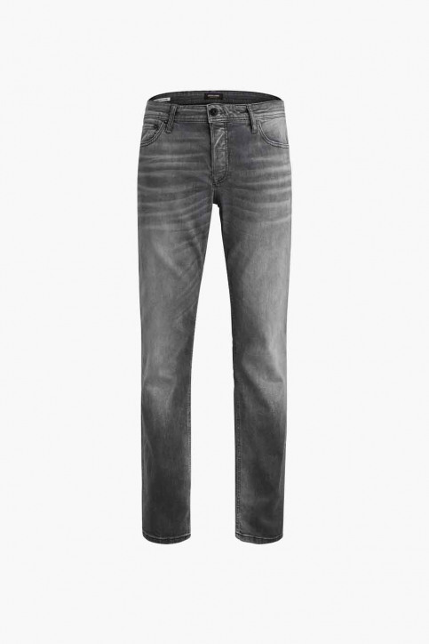 JACK & JONES JEANS INTELLIGENC Jeans slim 12158607_BLACK DENIM img4