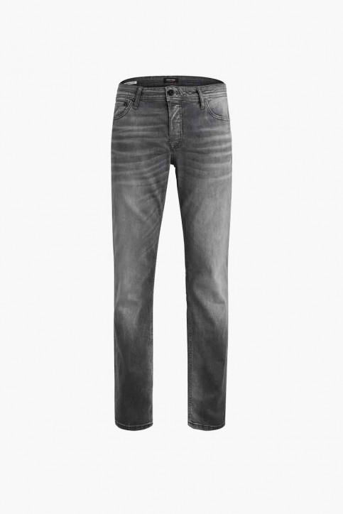 JACK & JONES JEANS INTELLIGENC Jeans slim 12158607_BLACK DENIM img5