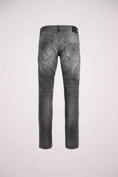 JACK & JONES JEANS INTELLIGENC Jeans slim 12158607_BLACK DENIM img6
