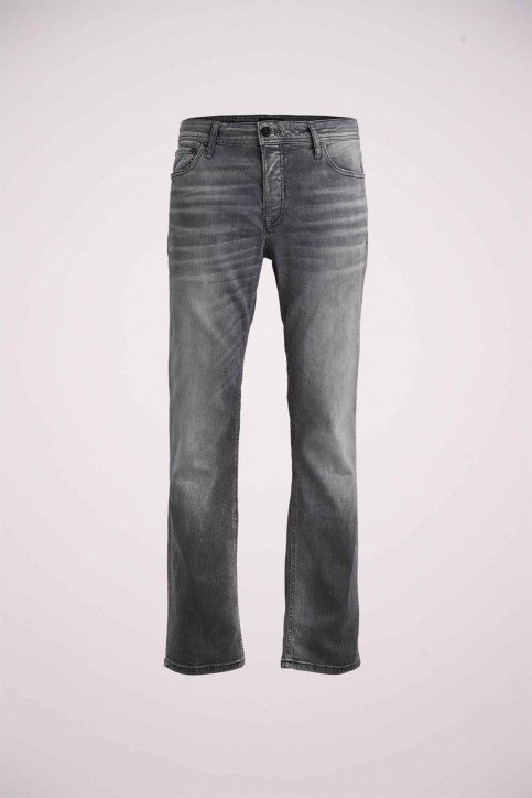 JACK & JONES JEANS INTELLIGENC Jeans slim 12158607_BLACK DENIM img8