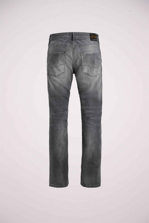 JACK & JONES JEANS INTELLIGENC Jeans slim 12158607_BLACK DENIM img9