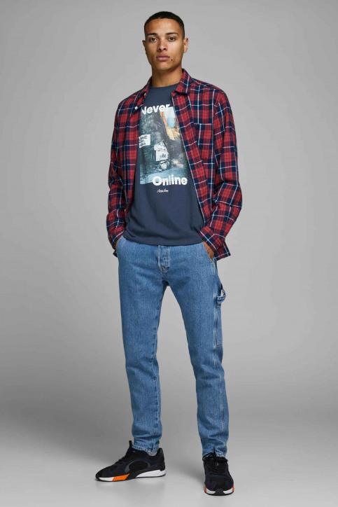 ORIGINALS BY JACK & JONES T-shirts (korte mouwen) blauw 12158757_NAVY BLAZER img2