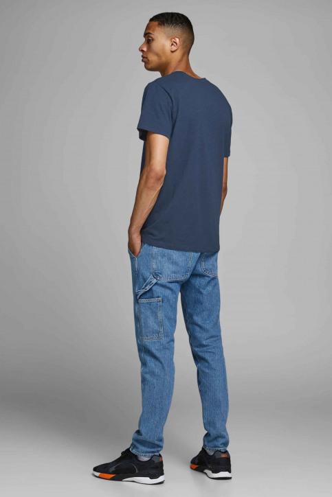 ORIGINALS BY JACK & JONES T-shirts (korte mouwen) blauw 12158757_NAVY BLAZER img3