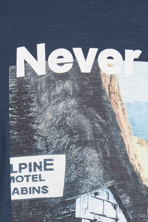 ORIGINALS BY JACK & JONES T-shirts (korte mouwen) blauw 12158757_NAVY BLAZER img4
