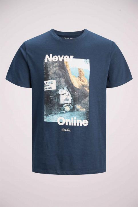 ORIGINALS BY JACK & JONES T-shirts (korte mouwen) blauw 12158757_NAVY BLAZER img7