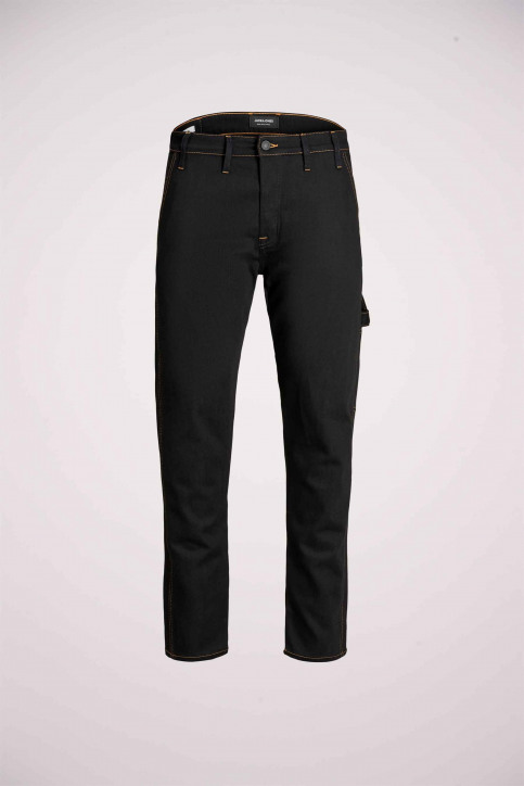 JACK & JONES JEANS INTELLIGENCE Jeans tapered 12159046_BLACK DENIM img6