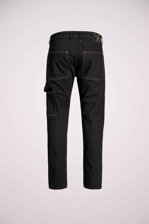 JACK & JONES JEANS INTELLIGENCE Jeans tapered 12159046_BLACK DENIM img7