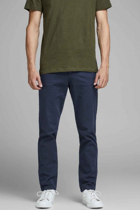 JACK & JONES JEANS INTELLIGENCE Chinos bleu 12159936_NAVY BLAZER img1