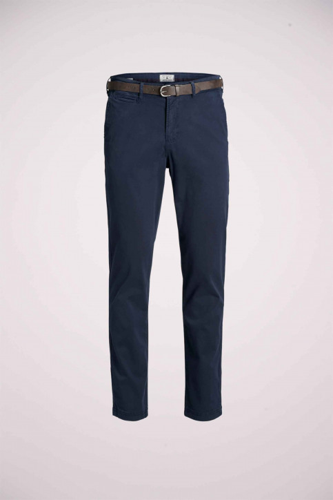JACK & JONES JEANS INTELLIGENCE Chinos bleu 12159936_NAVY BLAZER img8