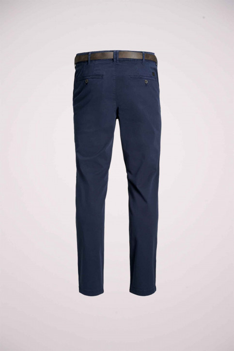 JACK & JONES JEANS INTELLIGENCE Chinos bleu 12159936_NAVY BLAZER img9