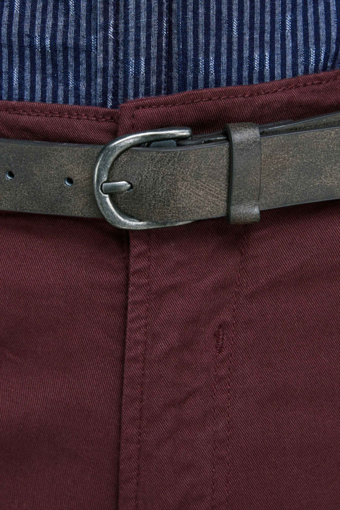 JACK & JONES JEANS INTELLIGENCE Chinos rouge 12159940_BURGUNDY img3