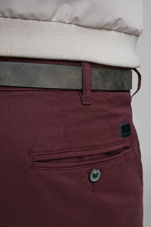 JACK & JONES JEANS INTELLIGENCE Chinos rouge 12159940_BURGUNDY img4
