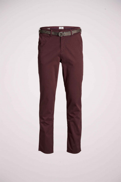 JACK & JONES JEANS INTELLIGENCE Chinos rouge 12159940_BURGUNDY img7