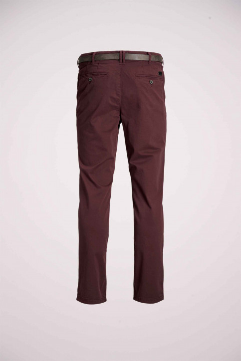 JACK & JONES JEANS INTELLIGENCE Chinos rouge 12159940_BURGUNDY img8