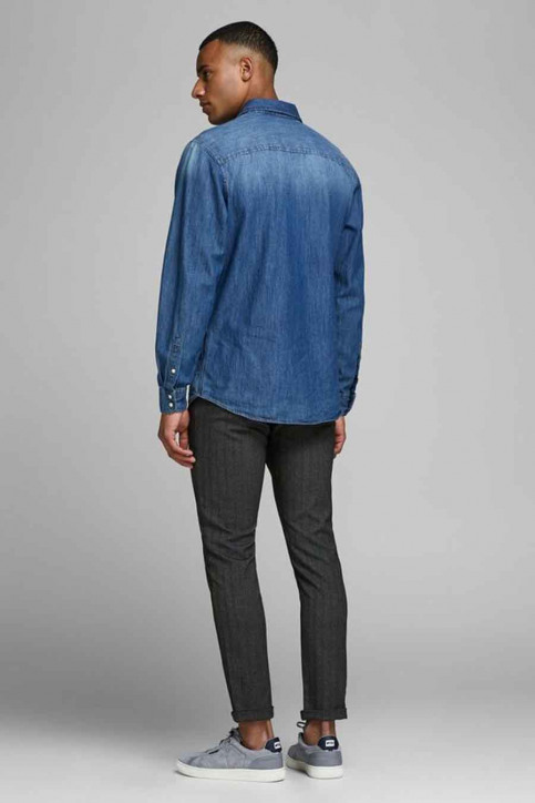 JACK & JONES JEANS INTELLIGENCE Chino's grijs 12159959_DARK GREY img5