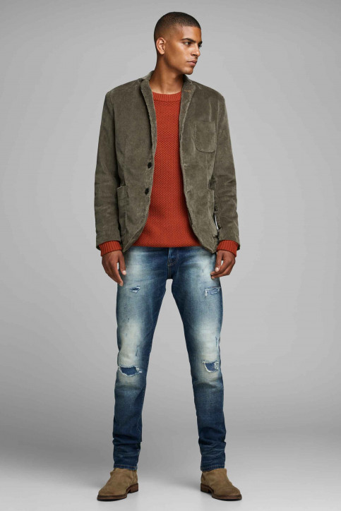 PREMIUM BLUE BY JACK & JONES Blazers brun 12161058_MOREL img2