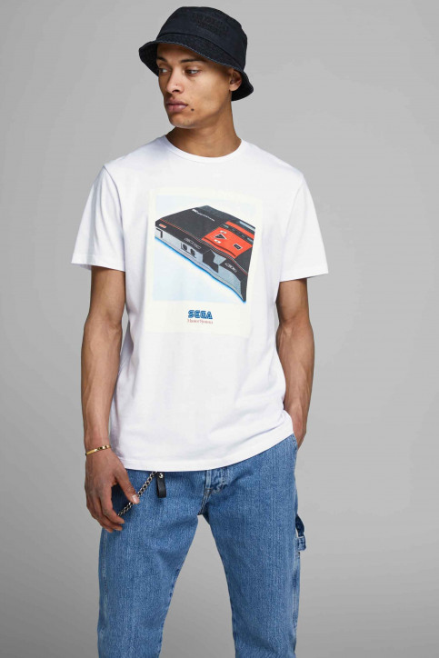 CORE BY JACK & JONES T-shirts (korte mouwen) wit 12161418_WHITE img1
