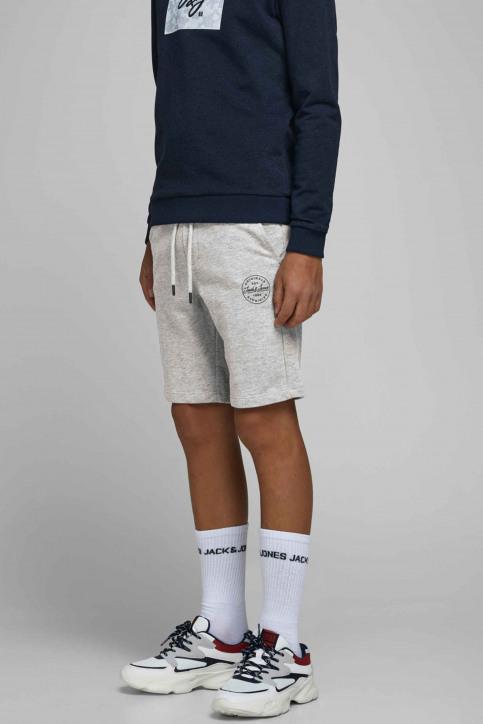 J & J Kids Shorts gris 12165944_LIGHT GREY MELA img1