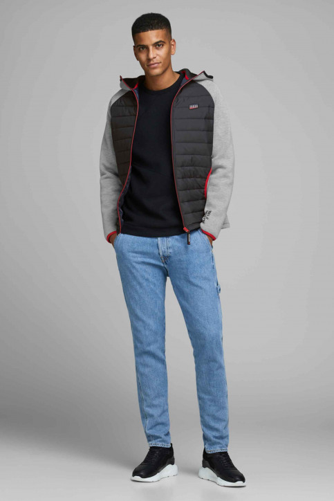 CORE BY JACK & JONES Jassen (kort) grijs 12166705_LIGHT GREY MELA img2