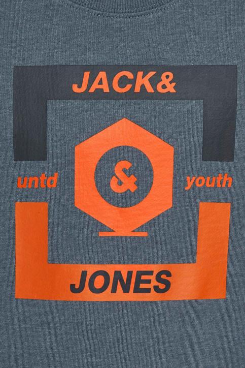 J & J Kids Sweaters met O-hals blauw 12167674_CHINA BLUE img4