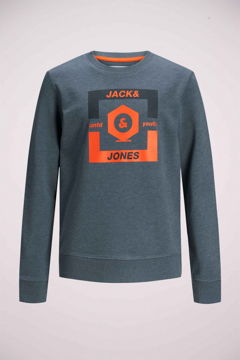 J & J Kids Sweaters met O-hals blauw 12167674_CHINA BLUE img7