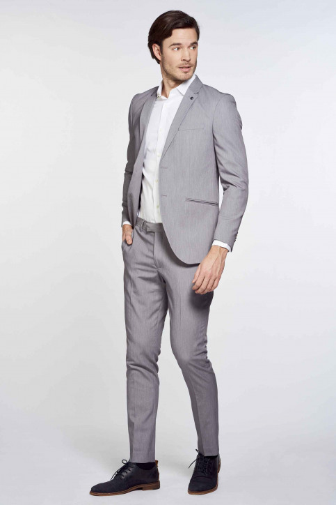 PREMIUM by JACK & JONES Blazers grijs 12167724_LIGHT GREY MELA img1