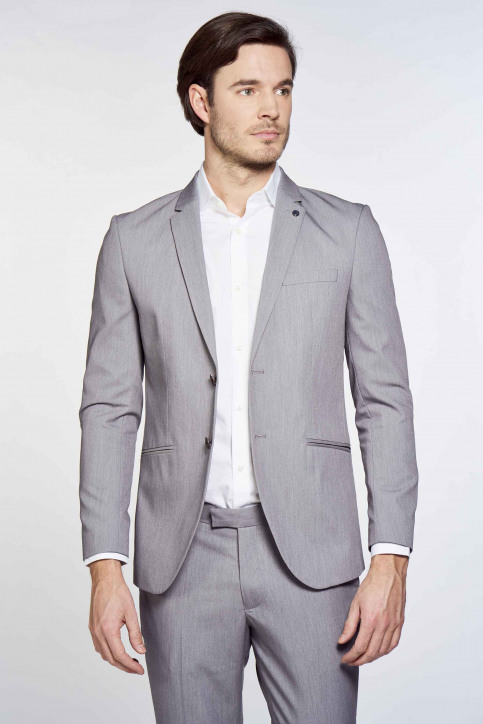 PREMIUM by JACK & JONES Blazers grijs 12167724_LIGHT GREY MELA img2