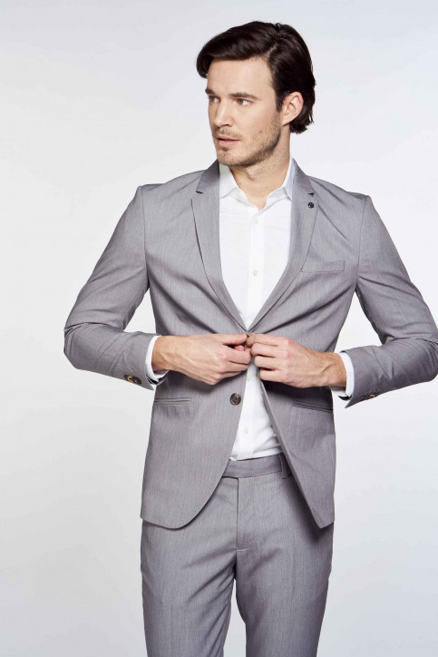PREMIUM by JACK & JONES Blazers grijs 12167724_LIGHT GREY MELA img3