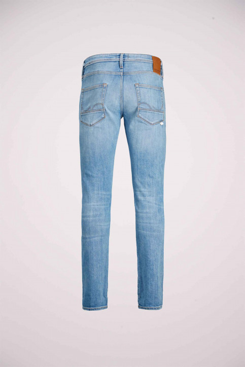 JACK & JONES JEANS INTELLIGENC Jeans slim denim 12168497_AM967 LIGHT BLU img9