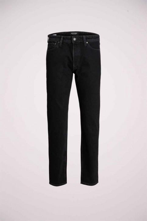 JACK & JONES JEANS INTELLIGENC Jeans slim zwart 12168656_BLACK DENIM img1