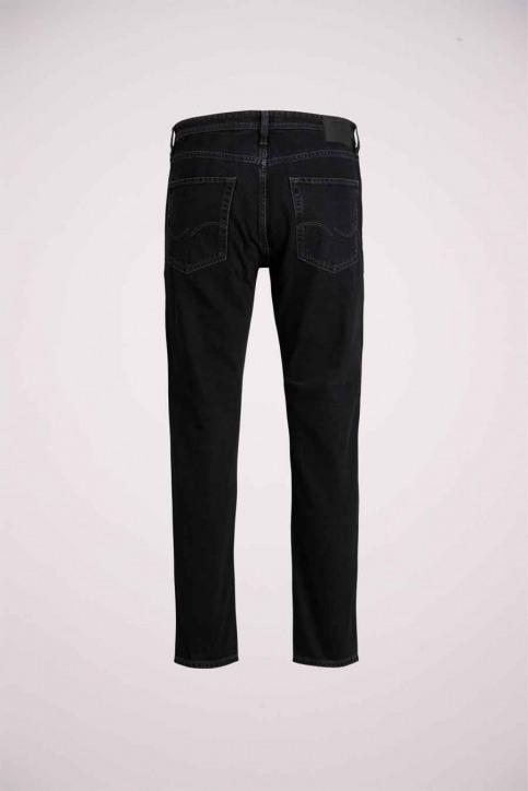 JACK & JONES JEANS INTELLIGENC Jeans slim zwart 12168656_BLACK DENIM img2