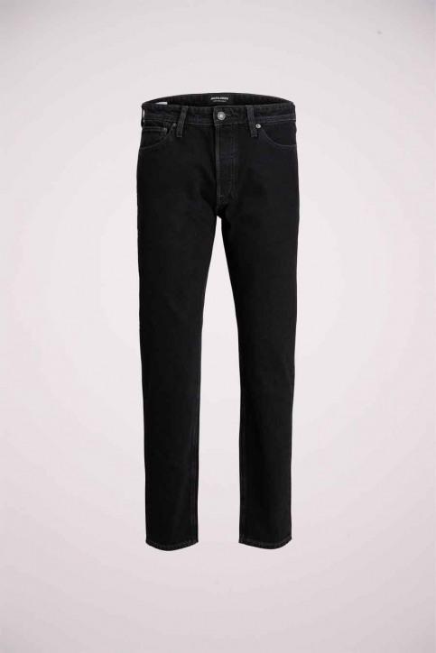 JACK & JONES JEANS INTELLIGENC Jeans slim zwart 12168656_BLACK DENIM img3