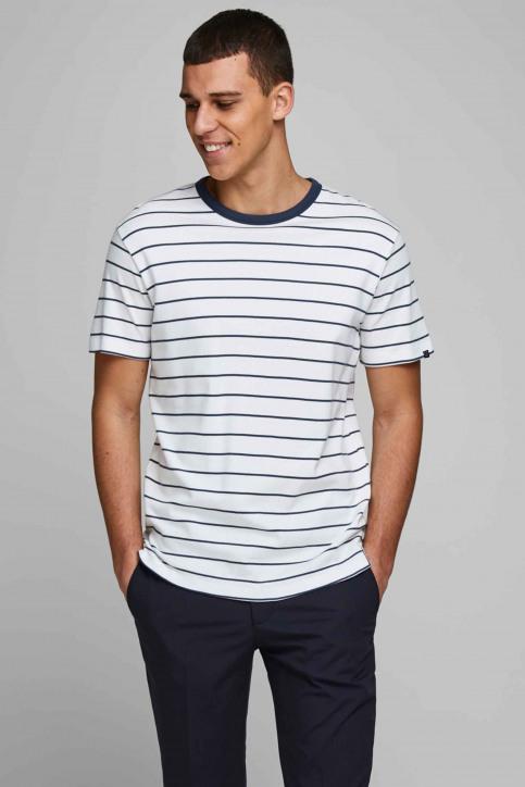 PREMIUM BY JACK & JONES T-shirts (manches courtes) blanc 12169062_BLANC DE BLANC img1