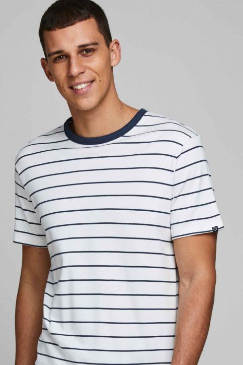 PREMIUM BY JACK & JONES T-shirts (manches courtes) blanc 12169062_BLANC DE BLANC img4