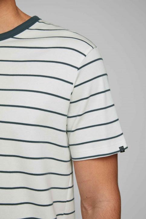PREMIUM BY JACK & JONES T-shirts (manches courtes) blanc 12169062_BLANC DE BLANC img5