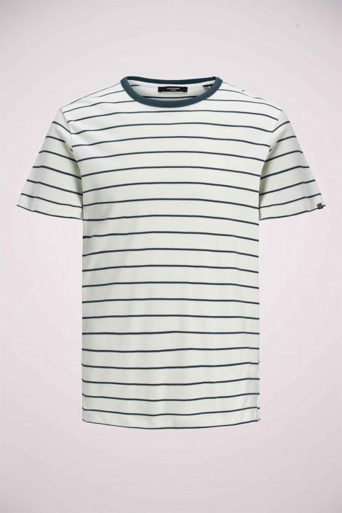 PREMIUM BY JACK & JONES T-shirts (manches courtes) blanc 12169062_BLANC DE BLANC img7