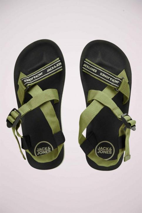 ACCESSORIES BY JACK & JONES Slippers groen 12169422_LIZARD img3
