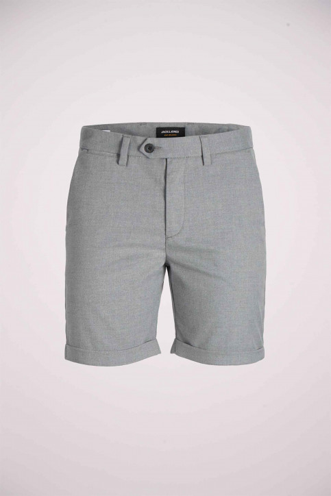 JACK & JONES JEANS INTELLIGENC Shorts gris 12169509_GREY MELANGE img7