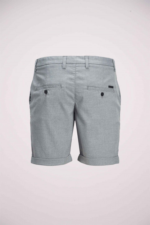 JACK & JONES JEANS INTELLIGENC Shorts gris 12169509_GREY MELANGE img8