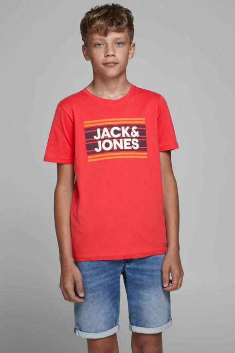 J & J Kids T-shirts manches courtes rouge 12171741_BITTERSWEET img1