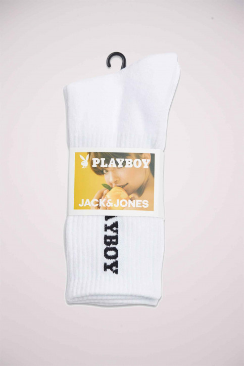 ACCESSORIES BY JACK & JONES Chaussettes blanc 12172069_WHITE img2