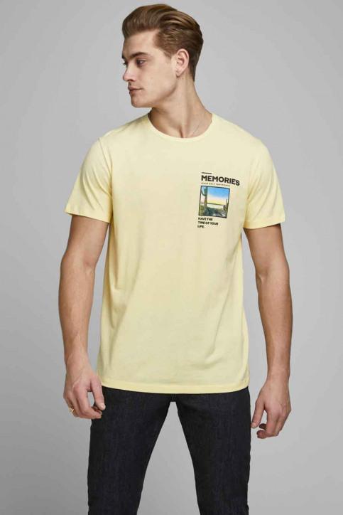 ORIGINALS BY JACK & JONES T-shirts (korte mouwen) wit 12173033_FLAN SLIM img1