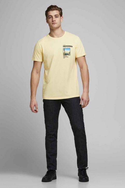 ORIGINALS BY JACK & JONES T-shirts (korte mouwen) wit 12173033_FLAN SLIM img2
