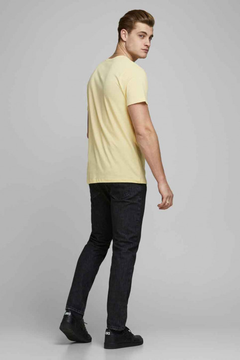 ORIGINALS BY JACK & JONES T-shirts (korte mouwen) wit 12173033_FLAN SLIM img3