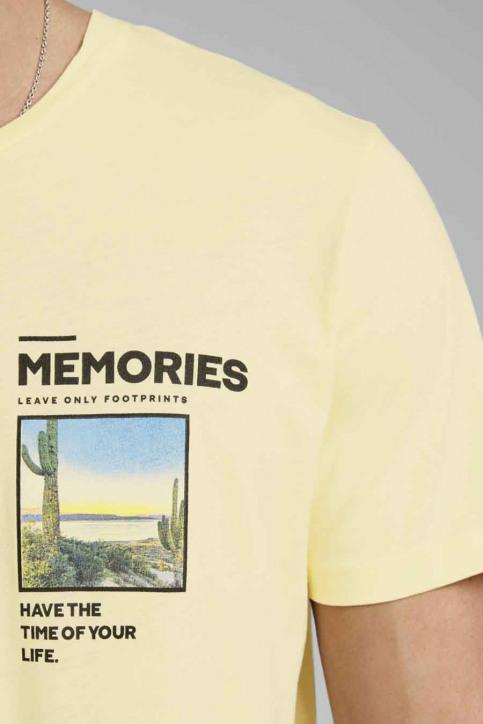 ORIGINALS BY JACK & JONES T-shirts (korte mouwen) wit 12173033_FLAN SLIM img5