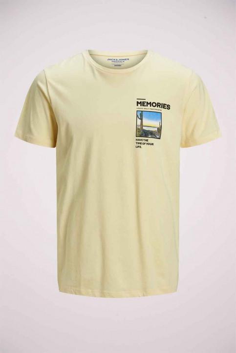 ORIGINALS BY JACK & JONES T-shirts (korte mouwen) wit 12173033_FLAN SLIM img7