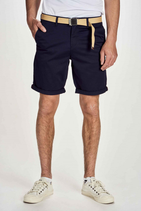 JACK & JONES JEANS INTELLIGENC Shorts bleu 12173470_NAVY BLAZER img1