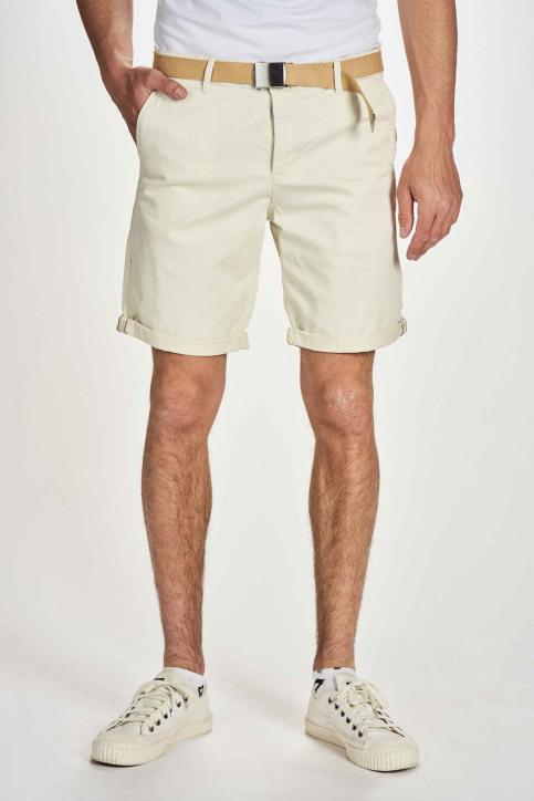 JACK & JONES JEANS INTELLIGENC Shorts blanc 12173470_WHITE PEPPER img1