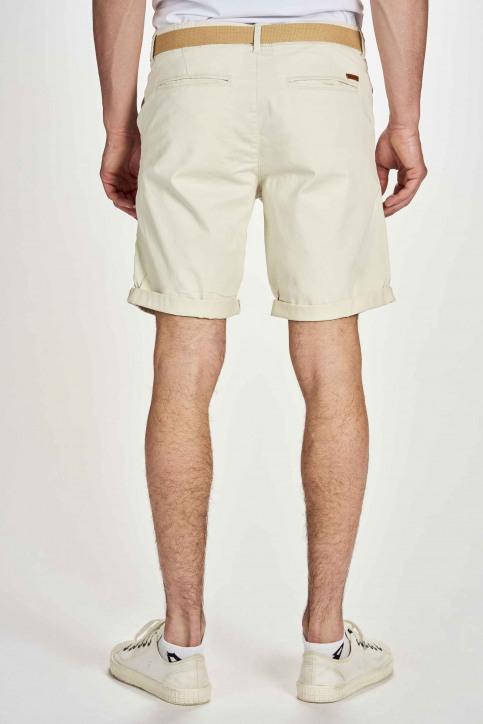 JACK & JONES JEANS INTELLIGENC Shorts blanc 12173470_WHITE PEPPER img2